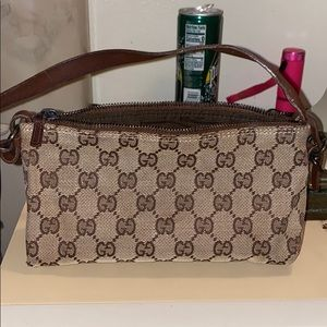 Authentic Gucci cosmetic/bag